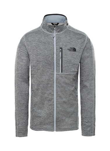 The North Face Canyonlands Full Zip Erkek Sweatshirt Gri Gri